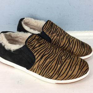 EMU Australia 6 slip on sneaker calf hair animal